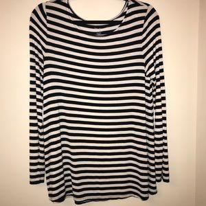 Striped Long Sleeve Gap T-Shirt